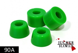 JUCKER HAWAII Longboard Bushings / Lenkgummis 90A grün -