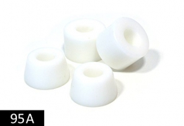JUCKER HAWAII Longboard Bushings / Lenkgummis 95A weiß -